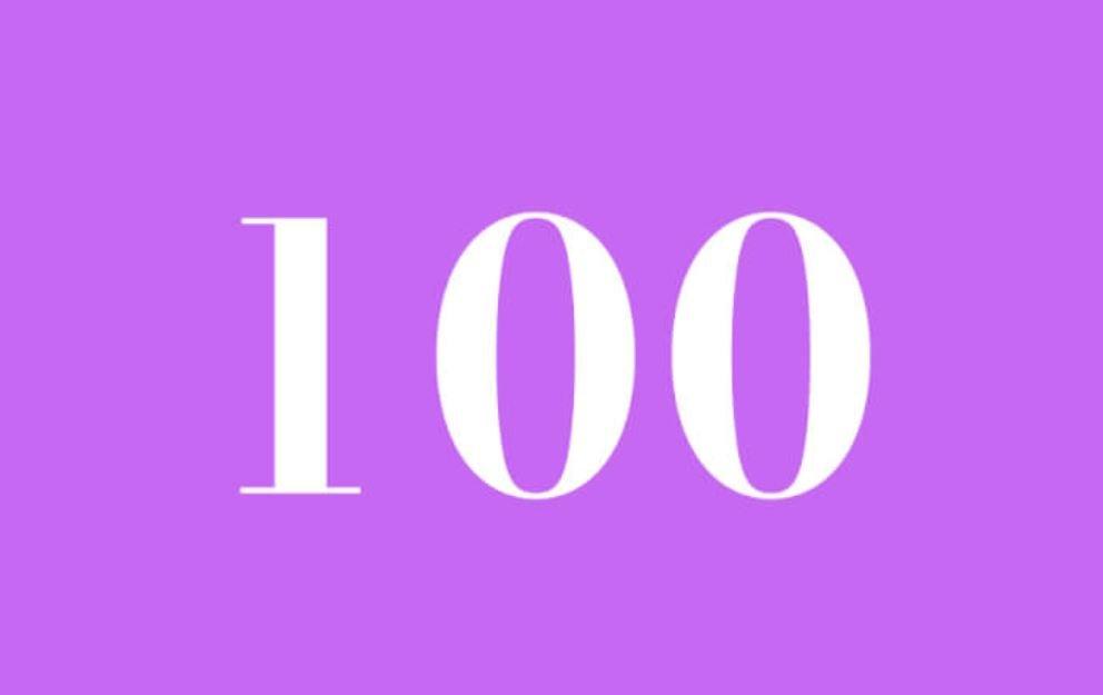 El número angelical 100