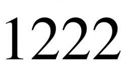 El número angelical 1222: Ángeles y significado