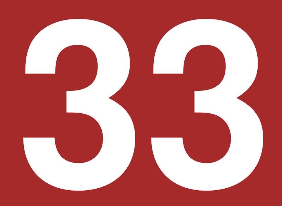 El número angelical 33