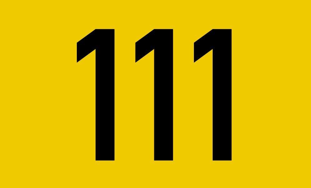 El número angelical 111