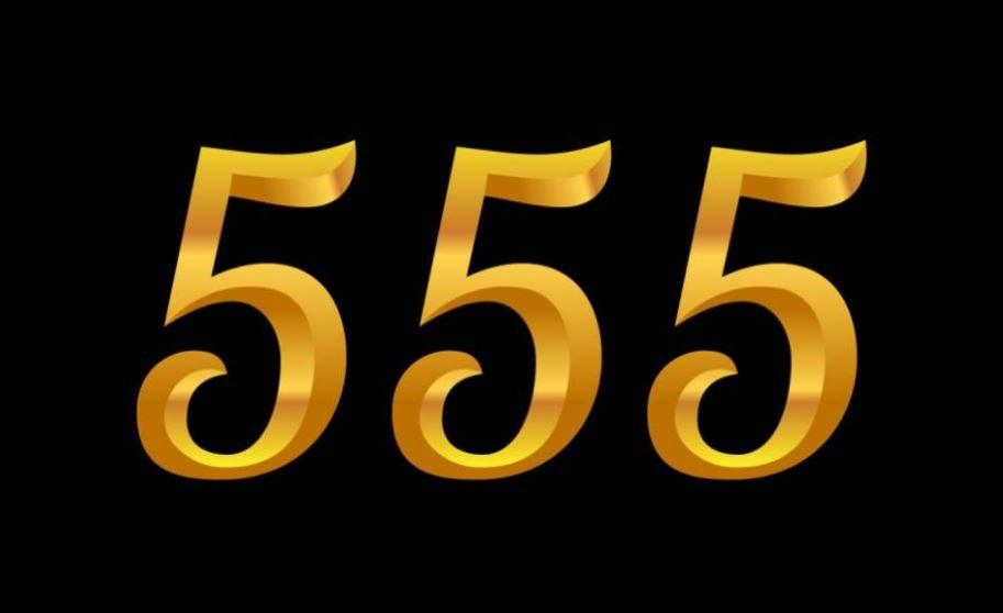 El número angelical 555