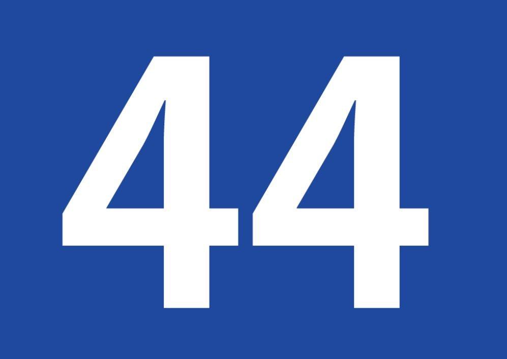 El número angelical 44