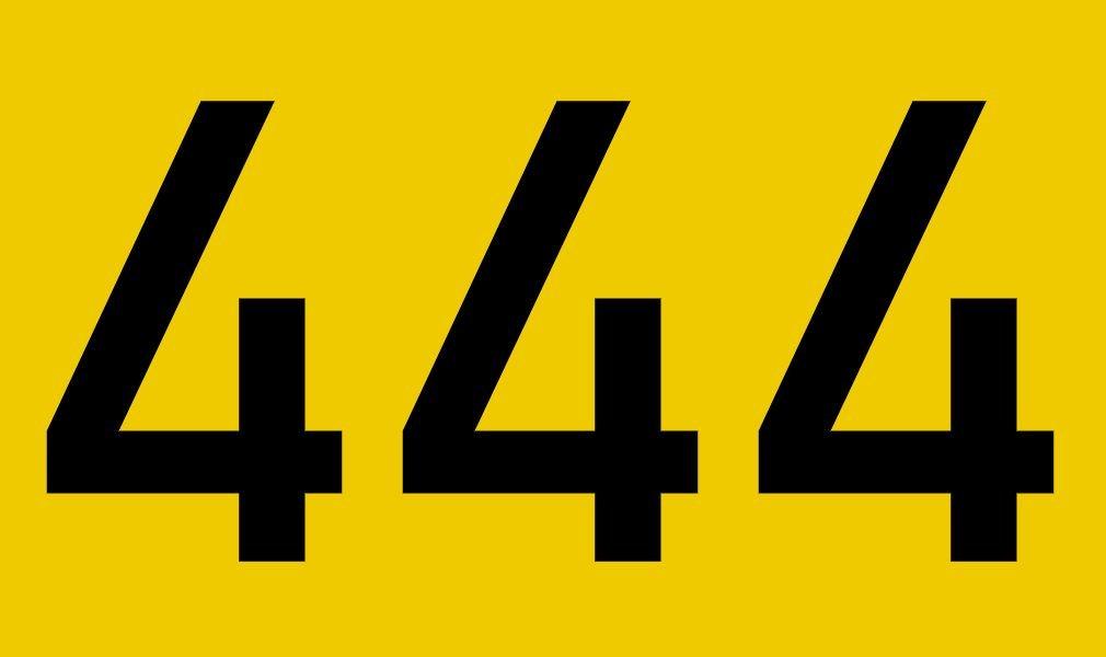 El número angelical 444