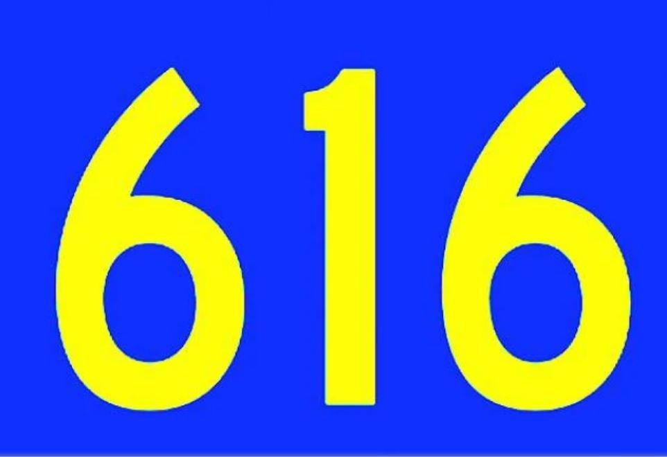 El número angelical 616