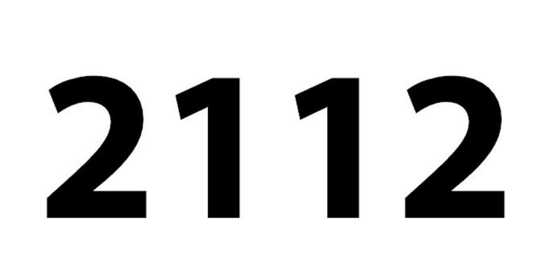 El número angelical 2112