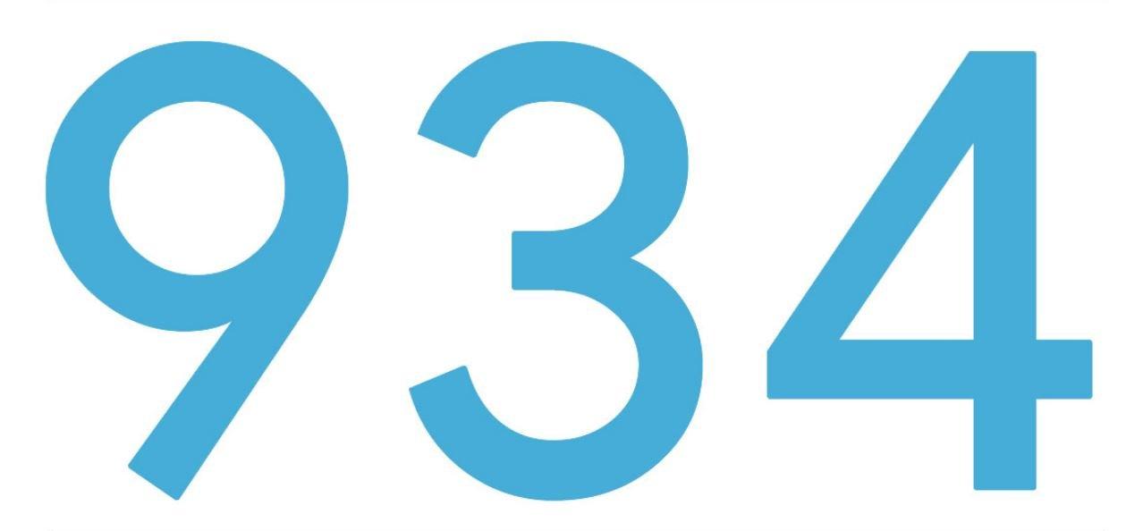 El número angelical 934