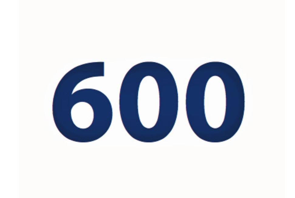 El número angelical 600