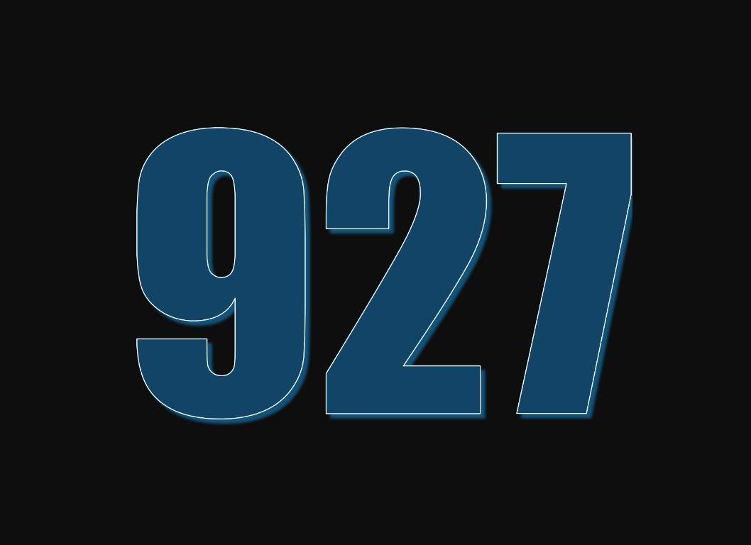 El número angelical 927