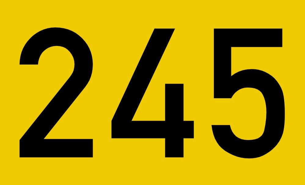 El número angelical 245