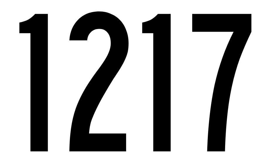 El número angelical 1217