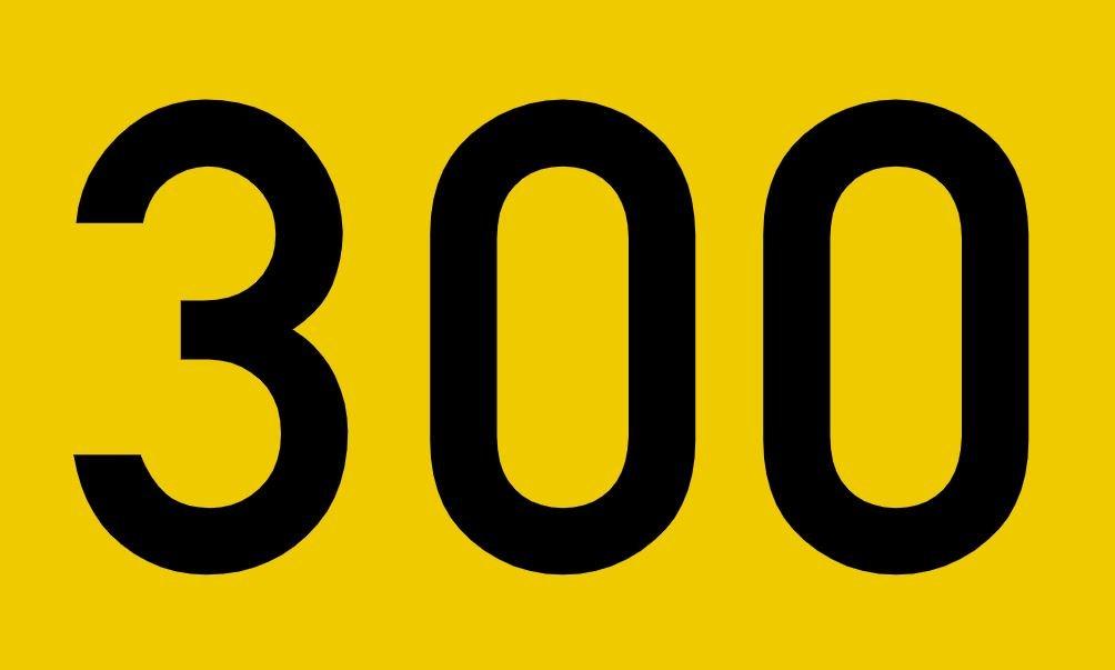 El número angelical 300