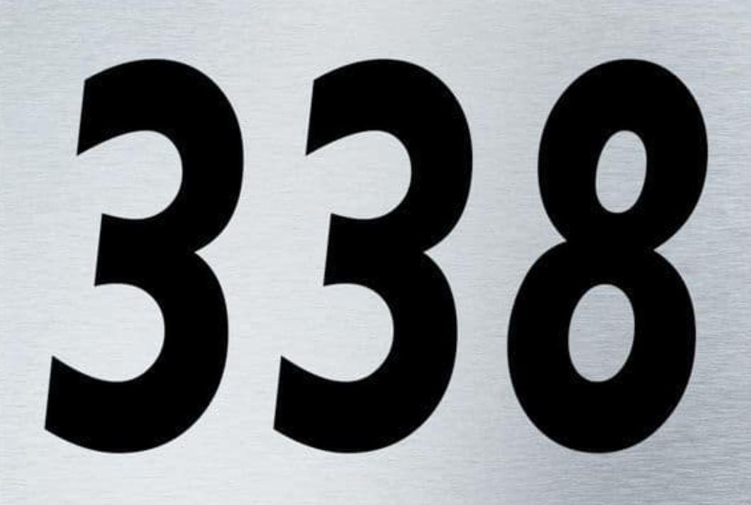 El número angelical 338