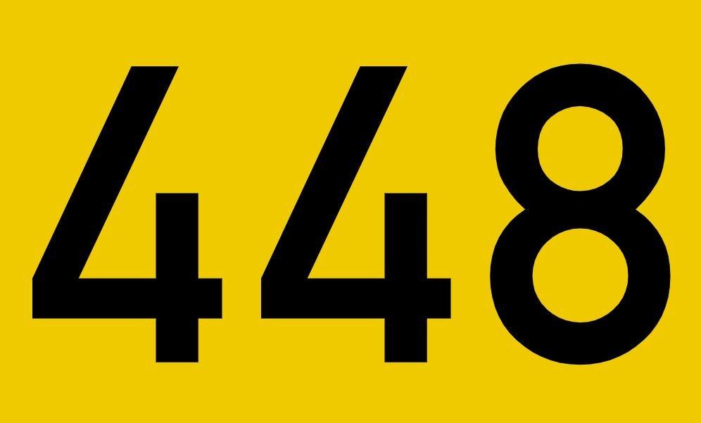 El número angelical 448