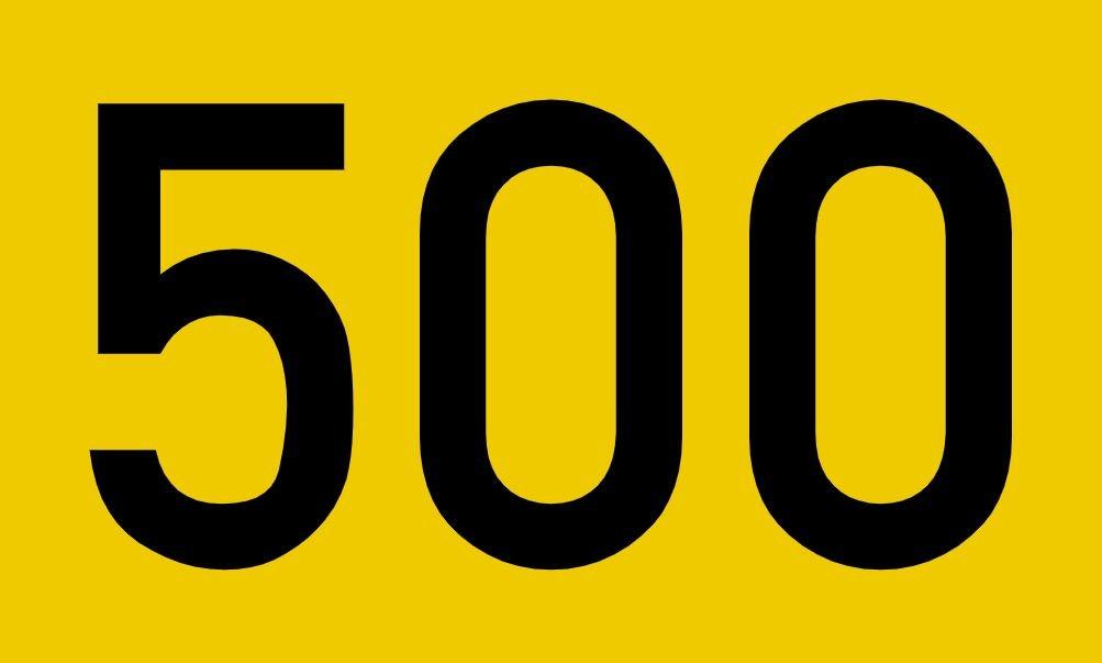 El número angelical 500