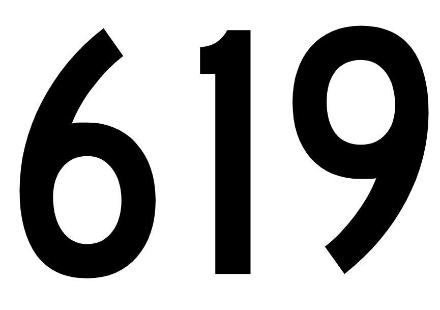 El número angelical 619