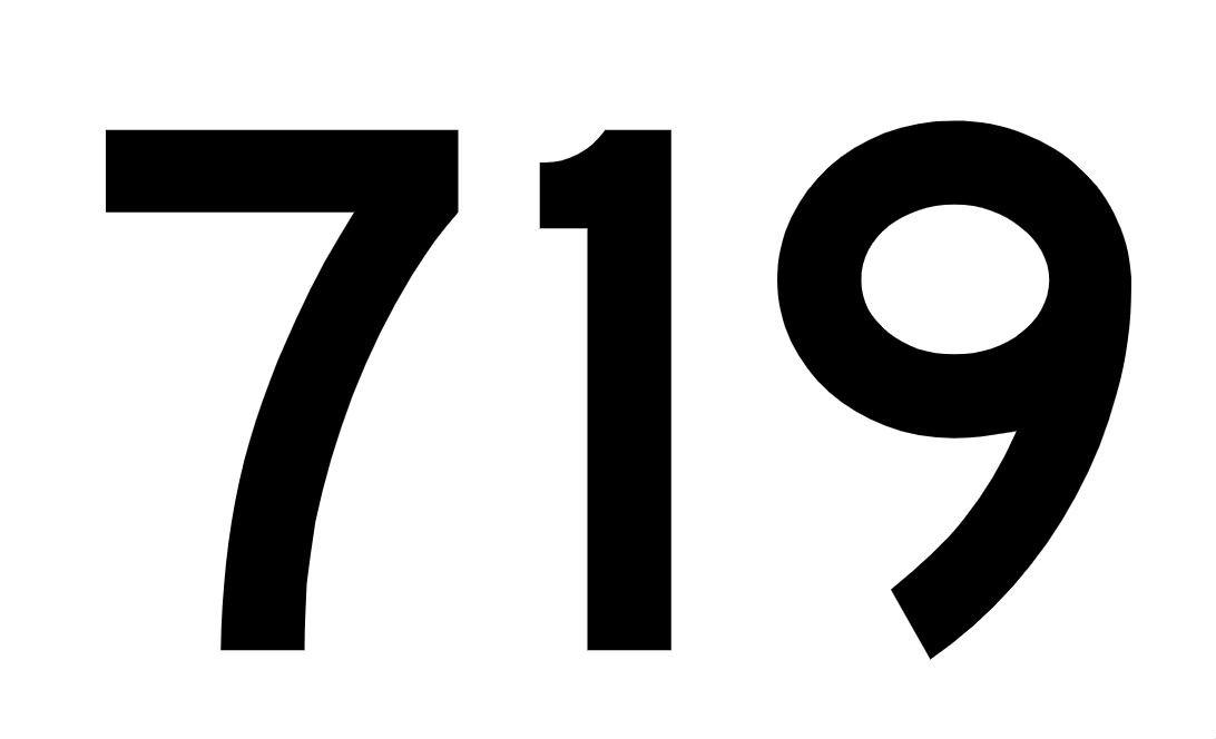 El número angelical 719