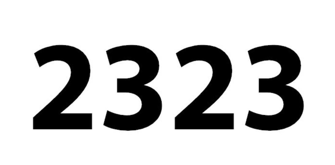 El número angelical 2323
