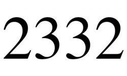 El número angelical 2332: Ángeles y significado