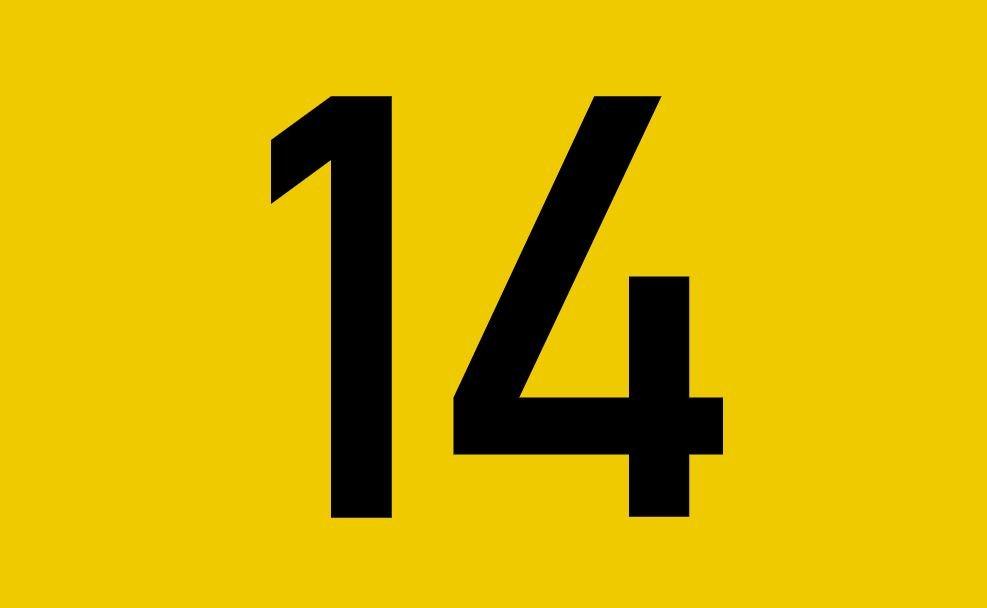 El número angelical 14
