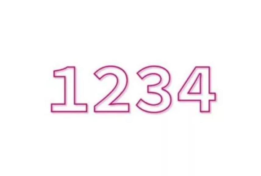 El número angelical 1234