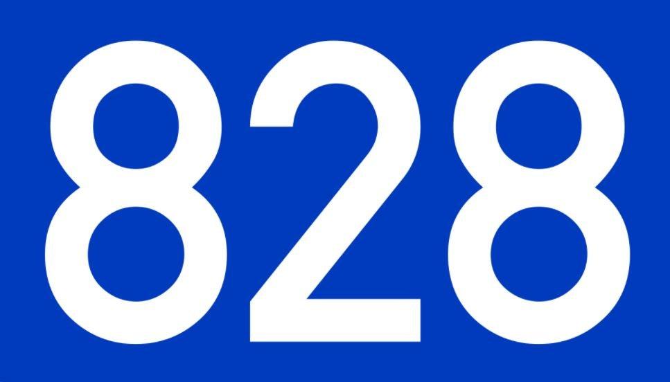 El número angelical 828