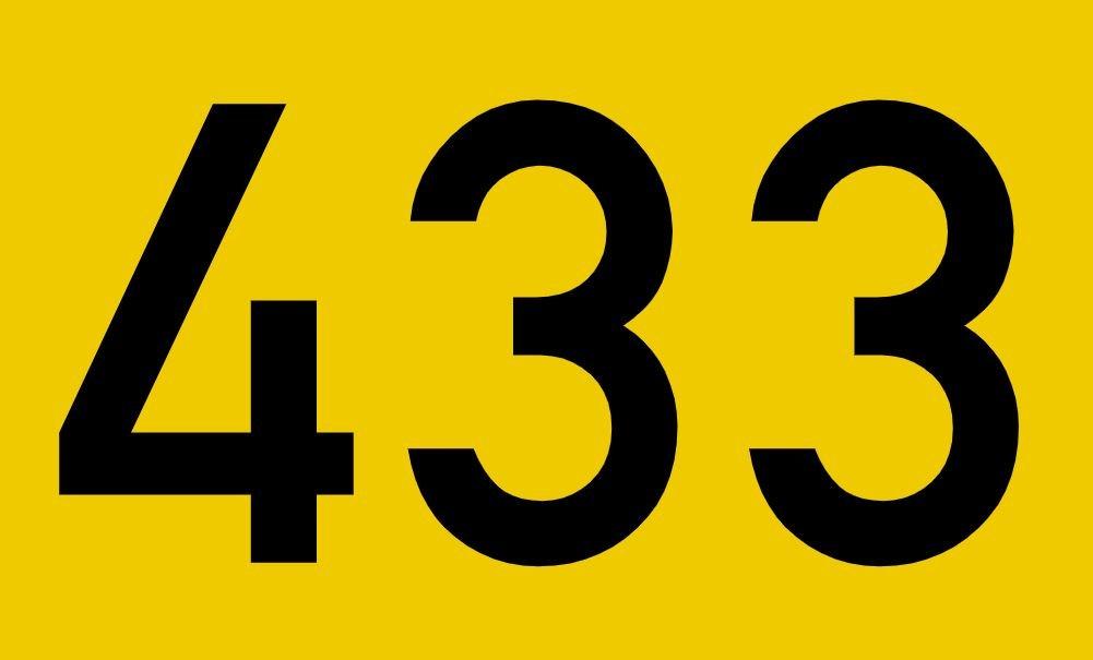 El número angelical 433
