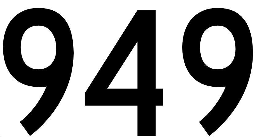 El número angelical 949