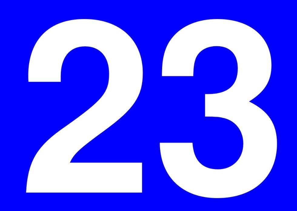 El número angelical 23