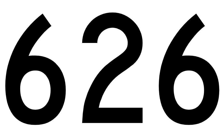 El número angelical 626