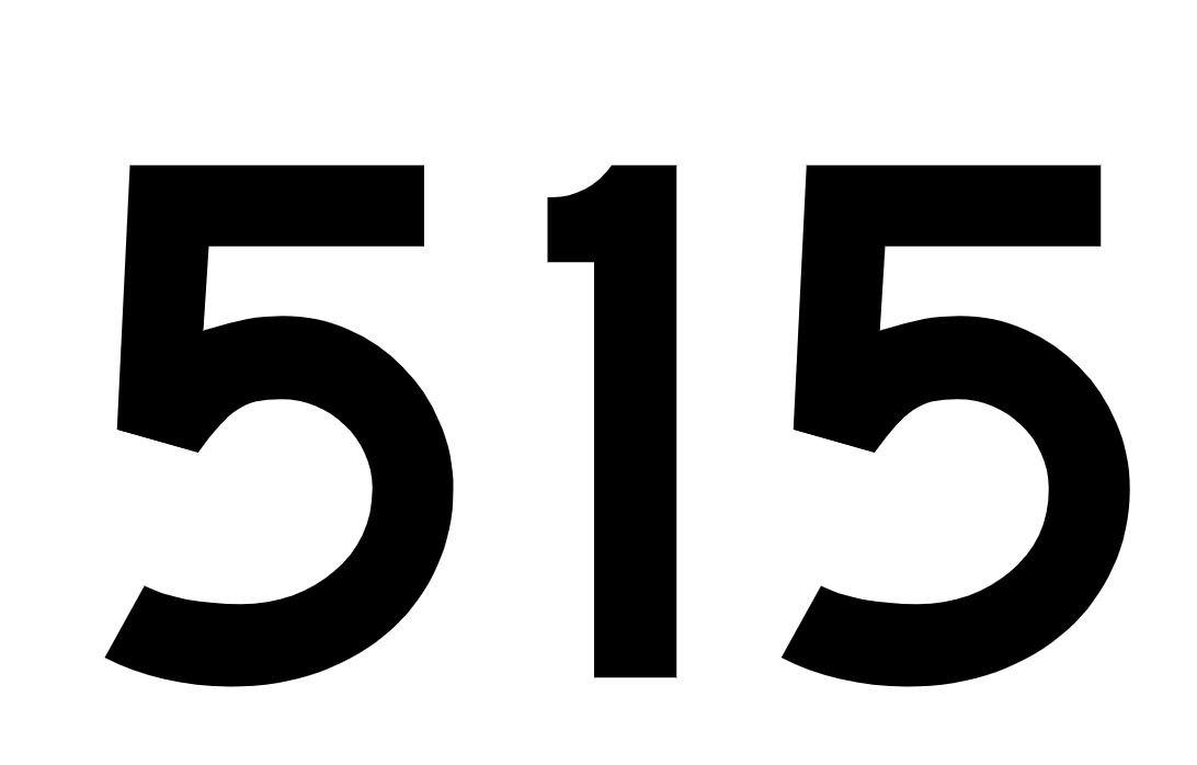 El número angelical 515
