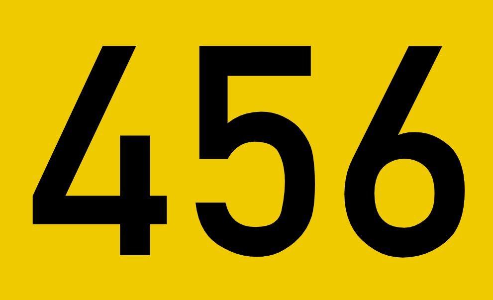El número angelical 456