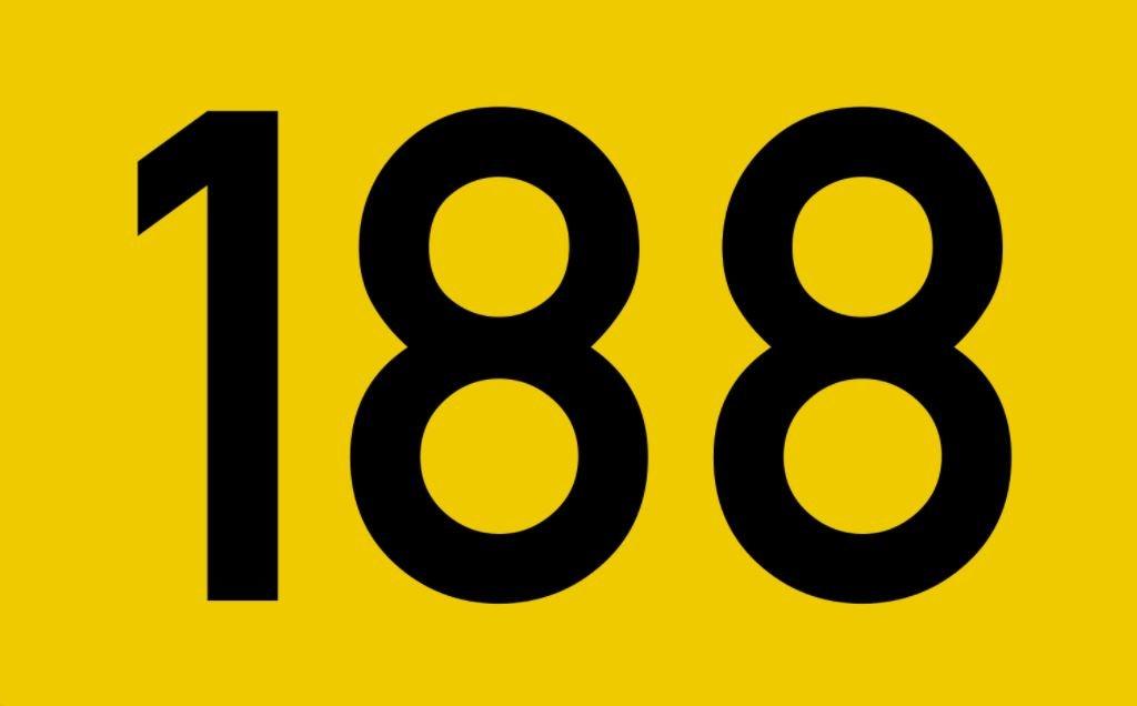 El número angelical 188