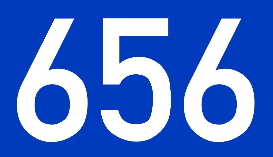 El número angelical 656