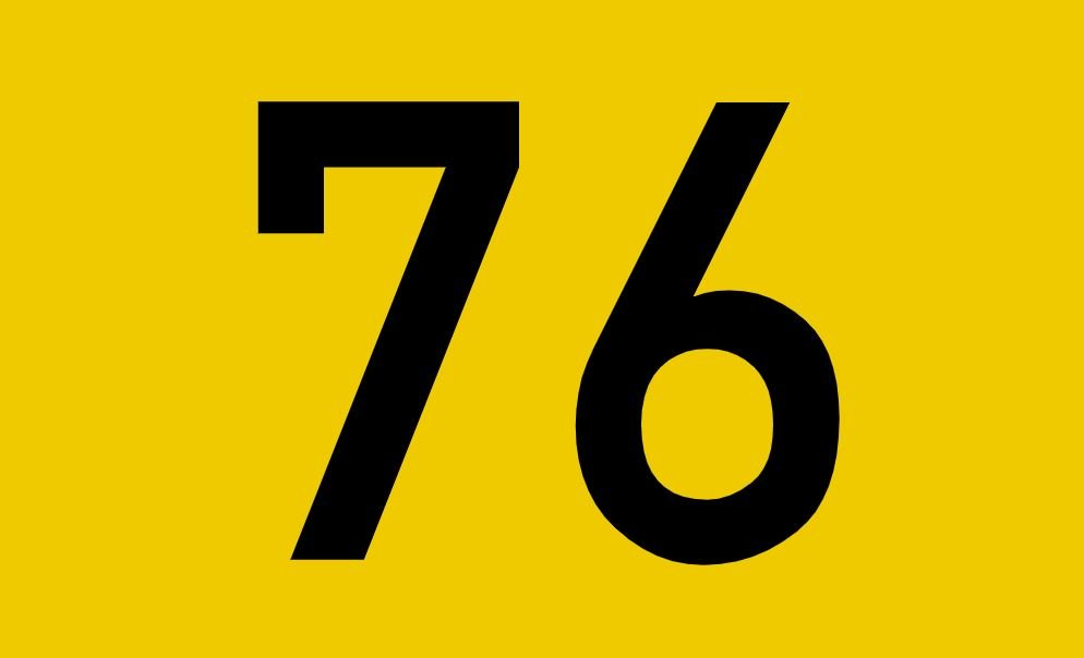 El número angelical 76
