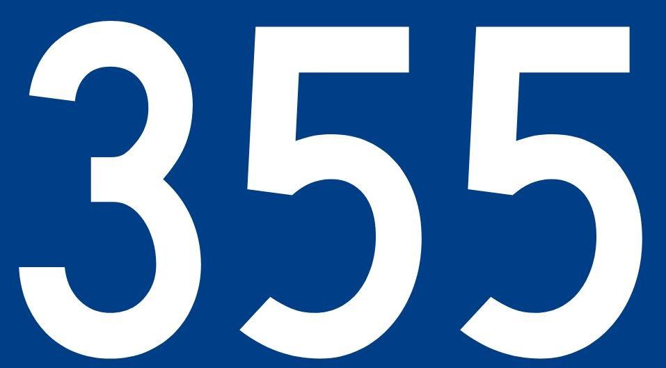 El número angelical 355
