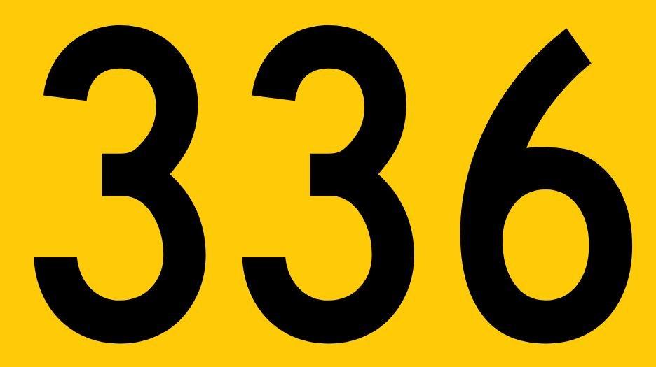 El número angelical 336