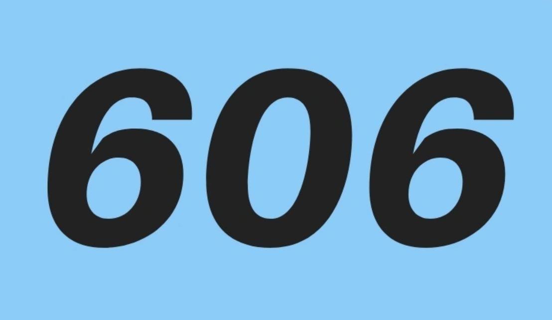El número angelical 606