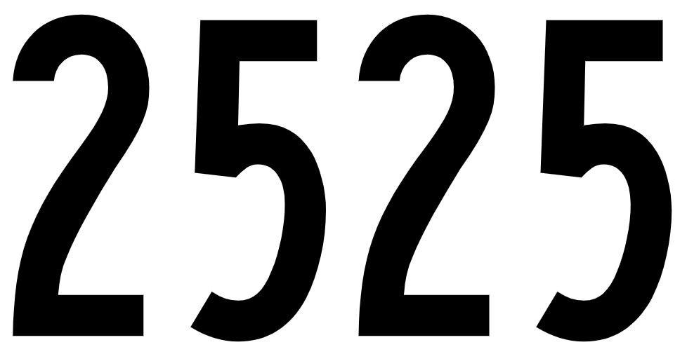 El número angelical 2525