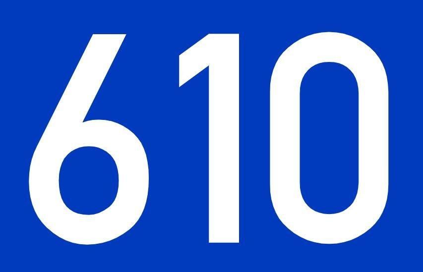 El número angelical 610