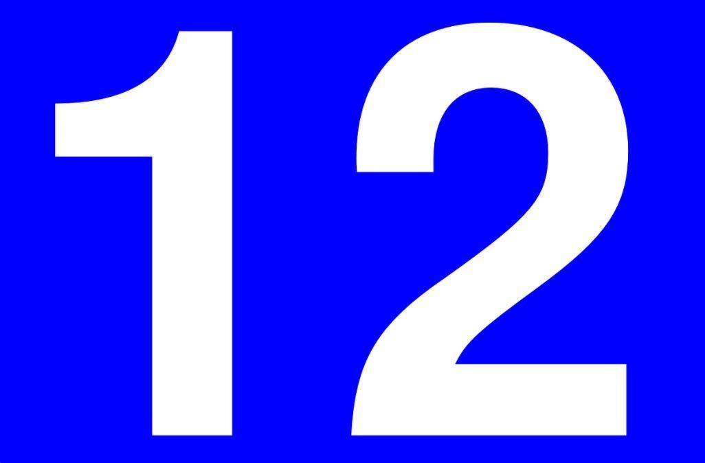 El número angelical 12