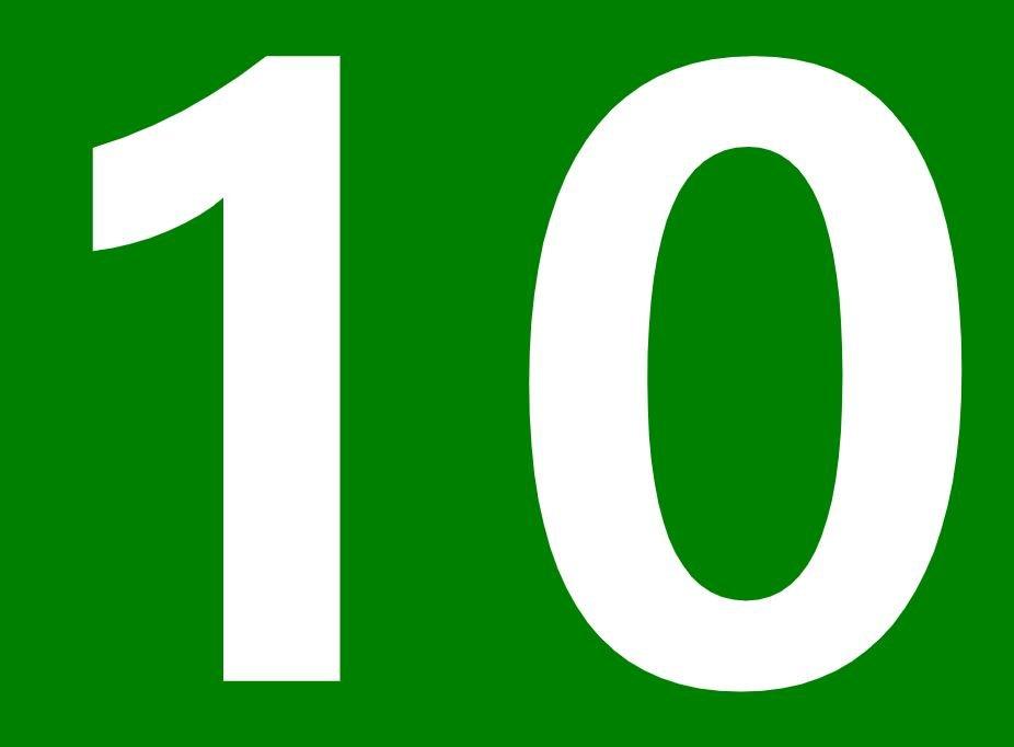 El número angelical 10