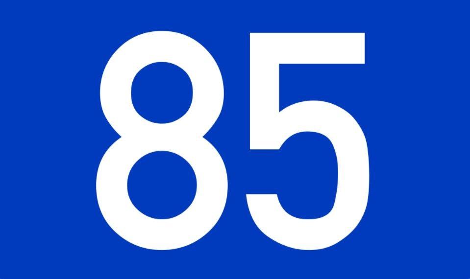 El número angelical 85