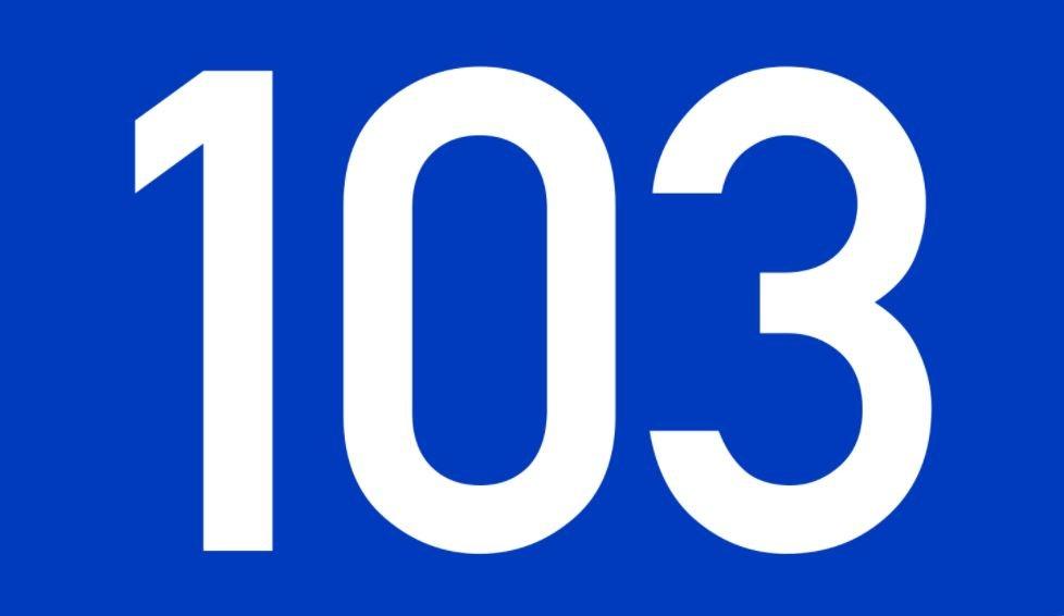 El número angelical 103