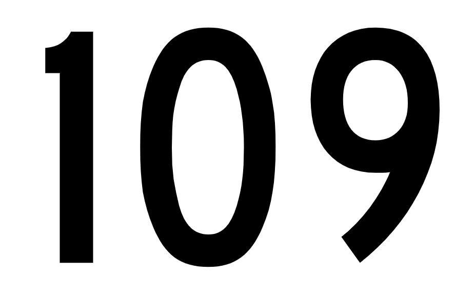 El número angelical 109