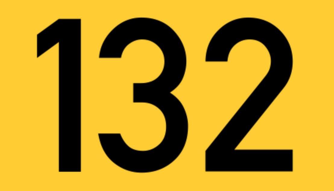 El número angelical 132