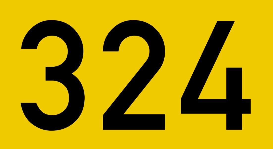 El número angelical 324