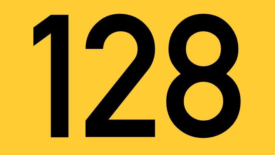 El número angelical 128