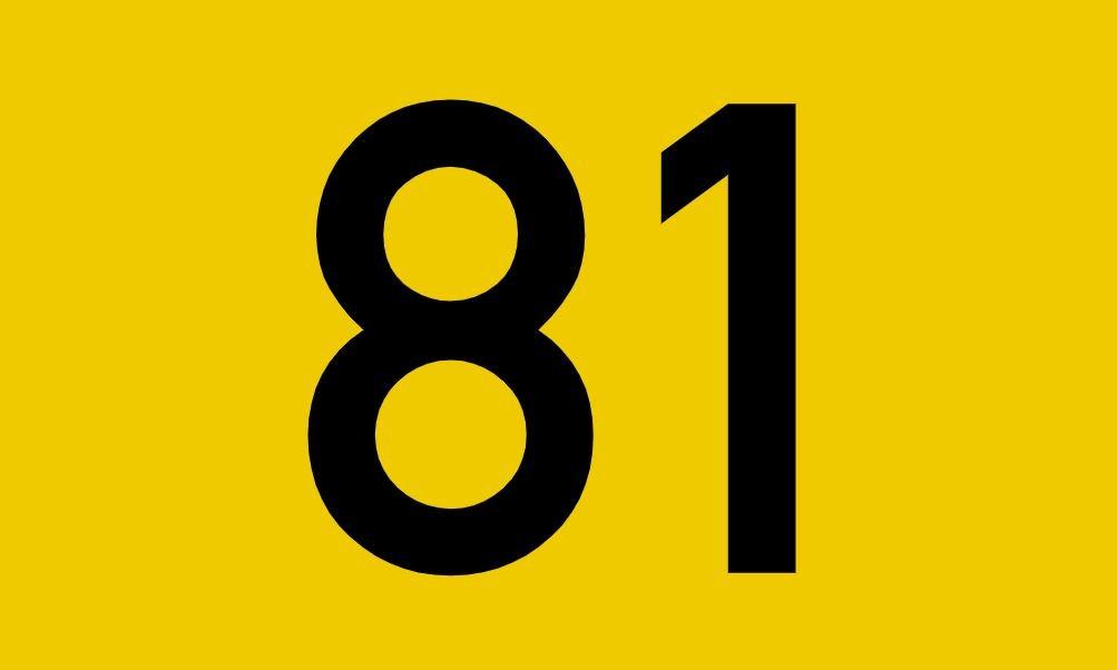 El número angelical 81