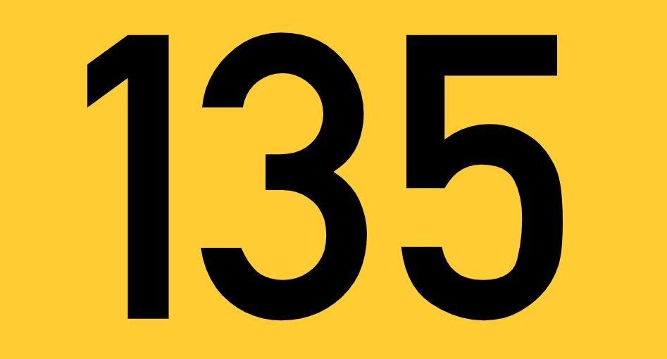 El número angelical 135