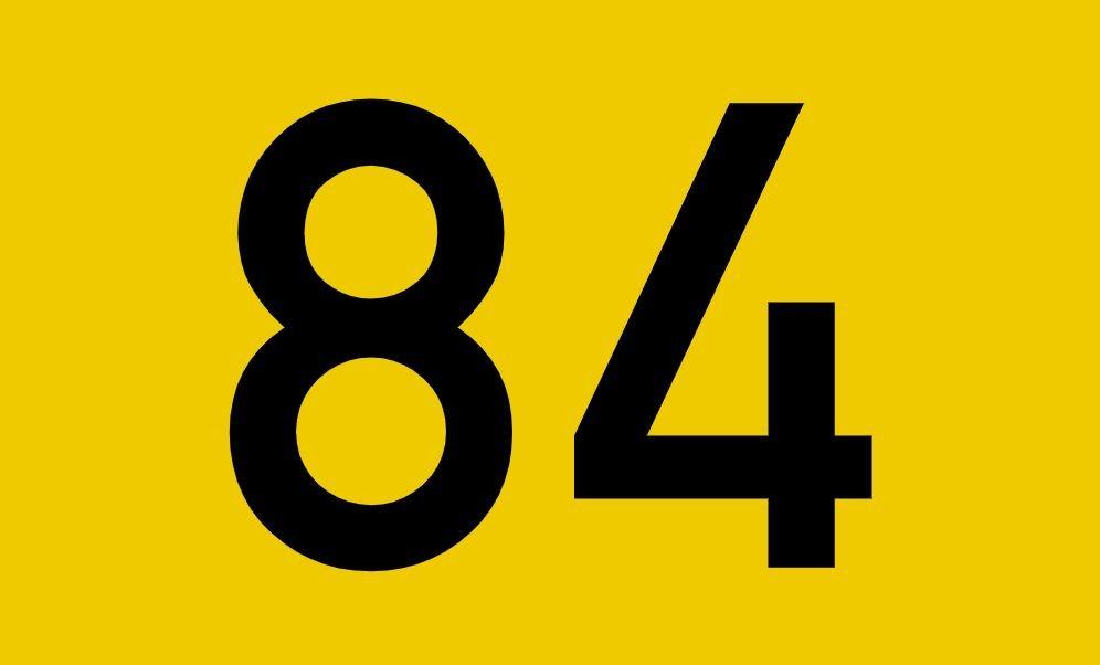 El número angelical 84